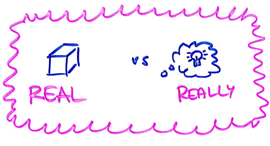 REAL vs REALLY, przymiotniki przyslowki, kiedy stosowac real a kiedy really  po angielsku, real, are you for real, really,